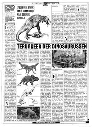 1984-09-22 Terugkeer der Dinosauriers