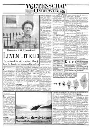 1985-08-01 Cairns Smith, Leven uit klei